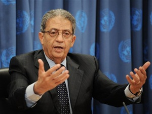 Arab League Chief Amr Moussa