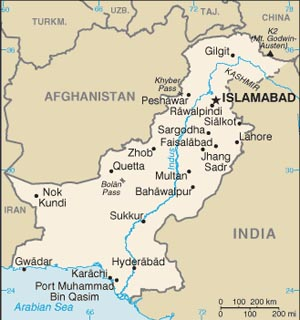 Two US Drone Strikes Kill Up To People In Pakistan News From - Us drone strikes map