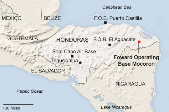 US DEA Agents Kill Up To Six Civilians In Honduras News From - Army bases in us map