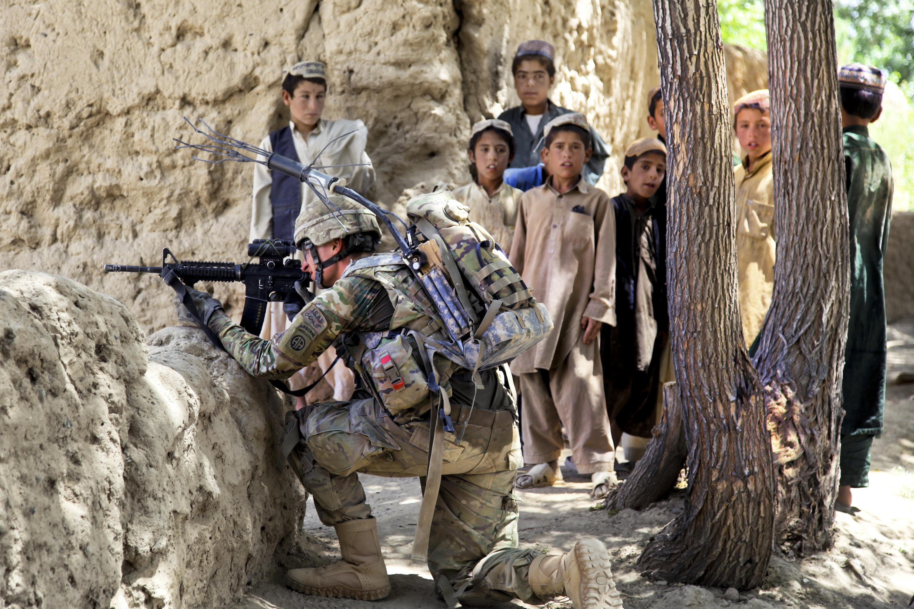 Nato Airstrike Kills Three Afghan Children