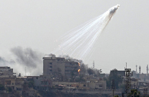 US used white phosphorus in Syria