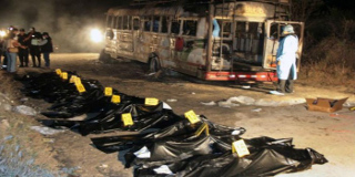 Requires review of Saudi Arabia's air strike against school bus